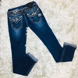 Miss Me Straight Leg Jeans 25